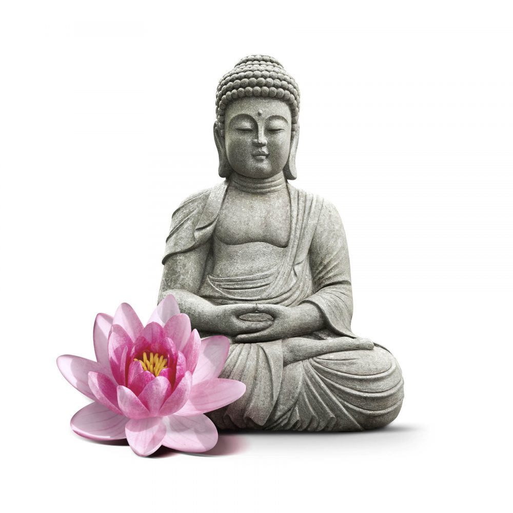 Canvas 40×40 buddha