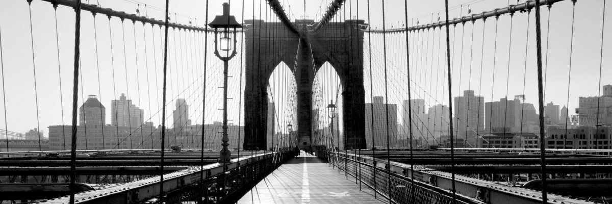 Canvas 50×150 brooklyn bridge, ny
