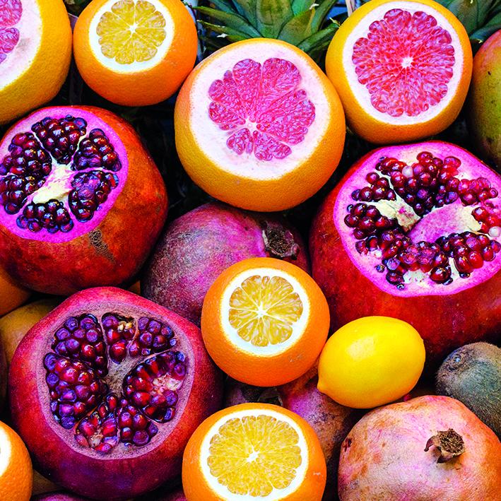 Canvas 0219 40×40 fruits