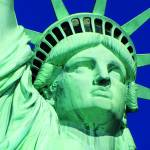 Canvas 0234 50×100 statue of liberty